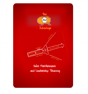 red brochure cover